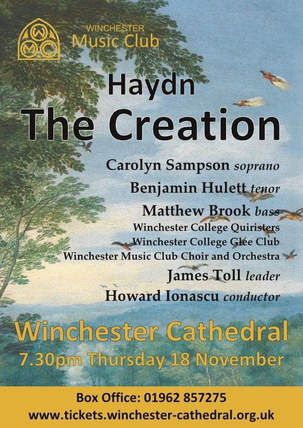 WMC Poster for The Creation