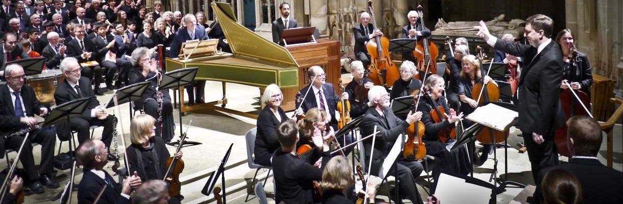 Winchester Music Club Orchestra in concert